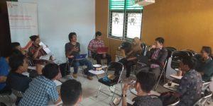 Halal bi halal dan rapat yang dihadiri oleh seluruh anggota Puspindes