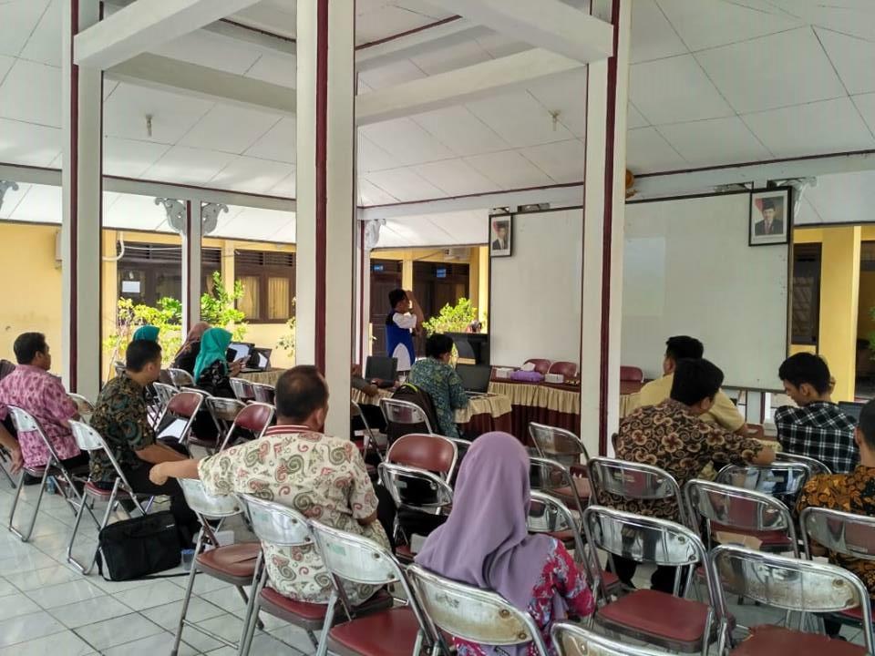 Pelatihan Peta Desa Kecamatan Comal Kabupaten Pemalang
